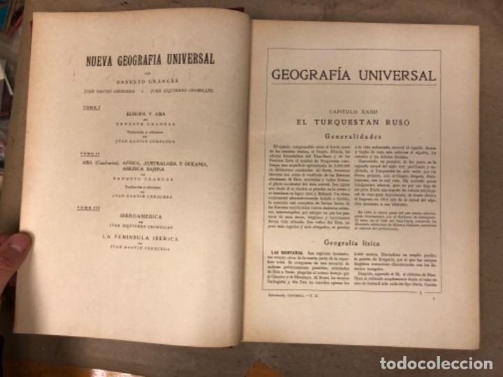 Libros antiguos: NUEVA GEOGRAFÍA UNIVERSAL. ED. ESPASA CALPE 1928. 3 TOMOS. VV.AA. - Foto 20 - 146544490