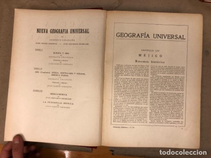 Libros antiguos: NUEVA GEOGRAFÍA UNIVERSAL. ED. ESPASA CALPE 1928. 3 TOMOS. VV.AA. - Foto 34 - 146544490