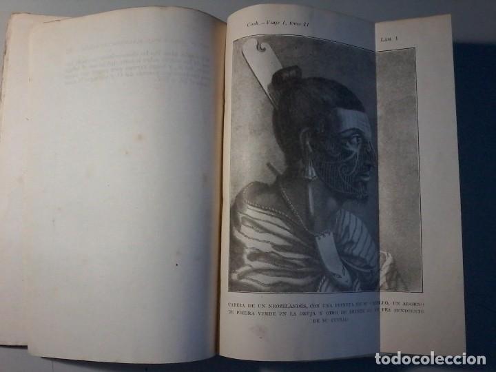 Libros antiguos: RELACION DE SU PRIMER VIAJE ALREDEDOR DEL MUNDO - JAMES COOK - TOMO II -CALPE 1922 - Foto 4 - 147052482
