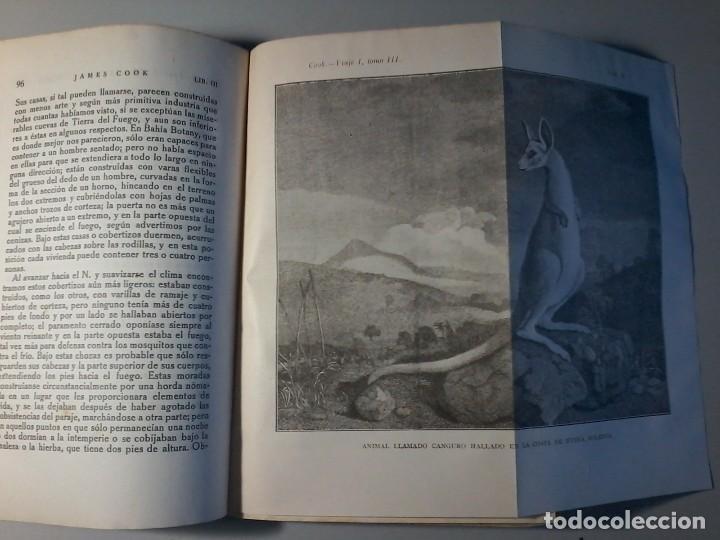 Libros antiguos: RELACION DE SU PRIMER VIAJE ALREDEDOR DEL MUNDO - JAMES COOK - TOMO III -CALPE 1922 - Foto 3 - 147052870