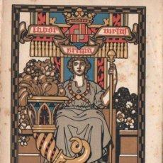 Libros antiguos: CIUTAT D' IGUALADA - FIRES I FESTES DE PRIMAVERA 1922. Lote 147596218