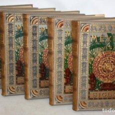 Libros antiguos: MEXICO A TRAVÉS DE LOS SIGLOS - 5 TOMOS - ENCUADERNACION ORIGINAL. AÑO 1880. Lote 147644246