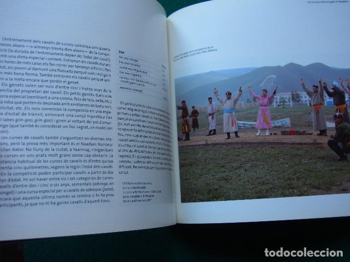 Libros antiguos: Un día a Mongolia - La Caixa - Foto 6 - 148457514