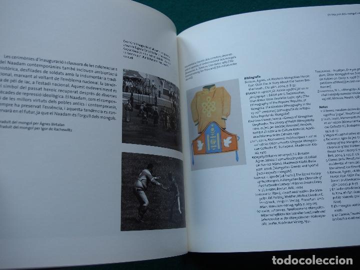 Libros antiguos: Un día a Mongolia - La Caixa - Foto 7 - 148457514