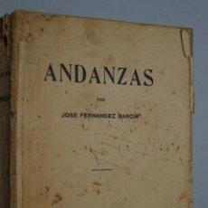 Libros antiguos: ANDANZAS. JOSÉ FERNÁNDEZ BARCIA. GIJON. 1924. Lote 149284214
