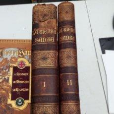 Libros antiguos: LA TIERRA SANTA , VICTOR GEBHARDT, 2 TOMOS ESPASA, 1878. Lote 149831970