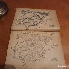 Libros antiguos: GEOGRAFIA POSTAL DE ESPAÑA ATLAS Y NOMENCLATOR. Lote 150262606