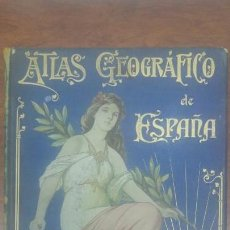 Libros antiguos: ATLAS GEOGRAFICO IBERO-AMERICANO ESPAÑA MANUEL ESCUDE BARTOLI. Lote 207242598