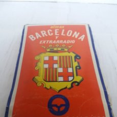 Livros antigos: PLANO GUÍA CALLEJERO BARCELONA Y EXTRARRADIO EDITORIAL ALMAX 1974. Lote 151851846