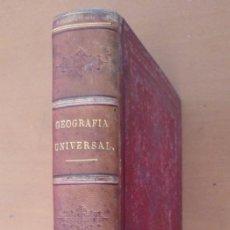 Libros antiguos: GEOGRAFIA UNIVERSAL TOMO CUARTO MALTE-BRUN CON LAMINAS DE CIUDADES, PAISES BARCELONA/MADRID 1869. Lote 152749754