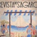 Libros antiguos: REVISTA DE S' AGARÓ ESTIU 1935. Lote 152903442