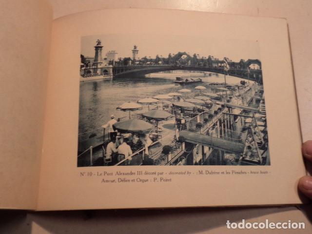 Libros antiguos: ALBUM SOUVENIR DE LEXPOSITION INTERNACIONALE DES ARTS DÉCORATIFS - PARIS 1925 - TEXTE DE CHAVANGE - Foto 3 - 153227906