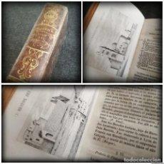 Libros antiguos: VIAJE A LA TIERRA SANTA (1851) - TOMOS I Y II - CON GRABADOS. Lote 154380818
