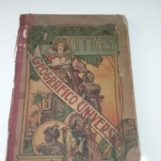 Libros antiguos: LIBRO ATLAS GEOGRÁFICO UNIVERSAL 1903 POR JOSÉ PALUZIE 22 MAPAS.. Lote 154399034