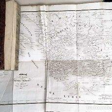 Libros antiguos: L'ANACHARSIS DU JEUNE AGE... 1836. (VIAJE DEL JOVEN ANACHARSIS A GRECIA. MAPA. GRABADO. Lote 154512670