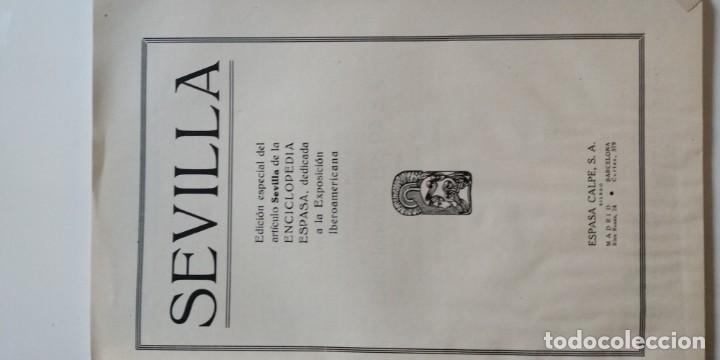 Libros antiguos: Sevilla exposición iberoamericana 1929. Espasa _ Calpe - Foto 4 - 154817362