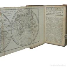 Libros antiguos: 1769 - ANTIGUO DICCIONARIO GEOGRÁFICO - MAPAS DESPLEGABLES - MAPAMUNDI - GEOGRAFÍA - 250 AÑOS!. Lote 154907990
