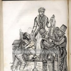Libros antiguos: [COSTUMBRES. BARCELONA, 1844] ENCICLOPEDIA DE TIPOS VULGARES Y COSTUMBRES DE BARCELONA. . Lote 155139586