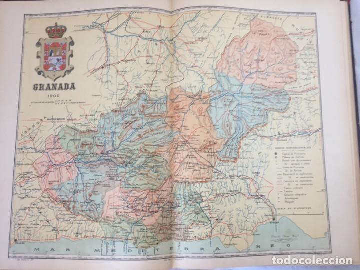 Libros antiguos: ATLAS GEOGRÁFICO IBEROMERICANO; ÉSPAÑA Y SUS POSESIONES DE ÁFRICA 1903 - CHÍAS Y CARBÓ - Foto 5 - 155215082