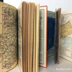 Libros antiguos: PERTHES. 2 VOLÚMENES : ATLAS PORTÁTIL DE ESPAÑA Y PORTUGAL * ATLAS DE GEOGRAFÍA ANTIGUA (C 1930). Lote 155259738