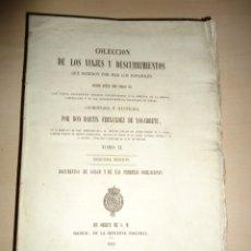 Libros antiguos: AMÉRICA COLECCIÓN DE LOS VIAJES Y DESCUBRIMIENTOS. T. II. MARTÍN FERNÁNDEZ DE NAVARRETE. Lote 155311846