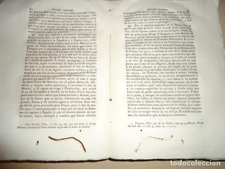 Libros antiguos: AMÉRICA COLECCIÓN DE LOS VIAJES Y DESCUBRIMIENTOS. t. III. Martín Fernández de Navarrete - Foto 3 - 155312478