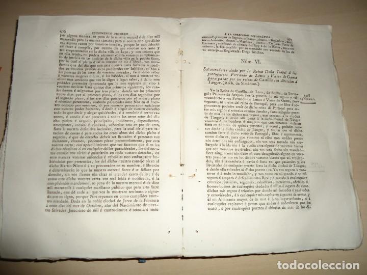 Libros antiguos: AMÉRICA COLECCIÓN DE LOS VIAJES Y DESCUBRIMIENTOS. t. III. Martín Fernández de Navarrete - Foto 4 - 155312478