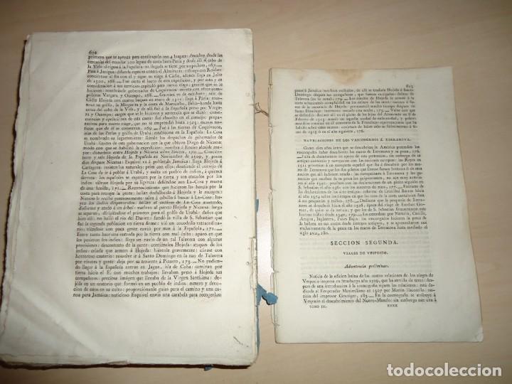 Libros antiguos: AMÉRICA COLECCIÓN DE LOS VIAJES Y DESCUBRIMIENTOS. t. III. Martín Fernández de Navarrete - Foto 5 - 155312478