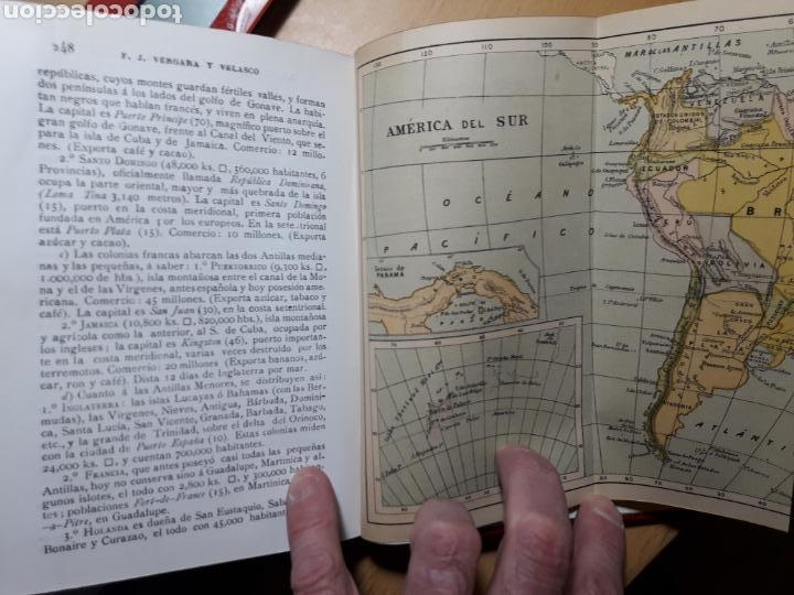 Libros antiguos: Texto de Geografía Universal. 1909 Librería Colombiana - Foto 3 - 155530974