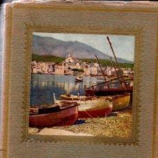 Libros antiguos: ALBUM MERAVELLA VOLUM V : COMARQUES DE GIRONA I COSTA BRAVA (CATALÒNIA, 1933). Lote 155643818