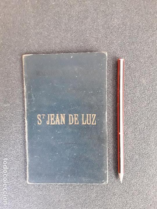 (MAPA. PAIS VASCO) MAPA DE ST JEAN DE LUZ DEL MINISTERIO DEL INTERIOR DE FRANCIA. (Libros Antiguos, Raros y Curiosos - Geografía y Viajes)