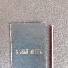 Libros antiguos: (MAPA. PAIS VASCO) MAPA DE ST JEAN DE LUZ DEL MINISTERIO DEL INTERIOR DE FRANCIA.. Lote 155647646