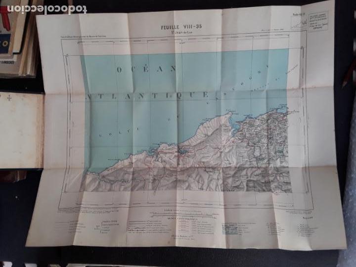 Libros antiguos: (Mapa. Pais Vasco) Mapa de St Jean de Luz del Ministerio del Interior de Francia. - Foto 2 - 155647646