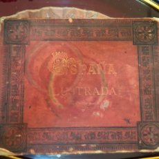 Libros antiguos: ESPAÑA ILUSTRADA PORTAFOLIO CON 88 FOTOTIPIAS. Lote 155685433