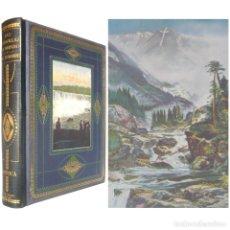 Libros antiguos: 1930 - AMÉRICA - GEOGRAFÍA Y VIAJES. ILUSTRADO, FOTOGRAFÍAS Y LÁMINAS EN COLORES. 27 X 22 CM. . Lote 155805890