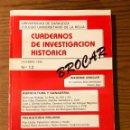 Libros antiguos: CUADERNOS DE INVESTIGACION HISTORICA-BROCAR 1986-12(30€). Lote 157329186