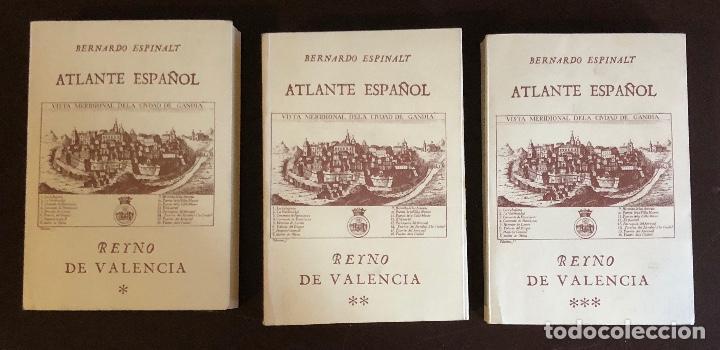 ATLANTE ESPAÑOL-REINO DE VALENCIA-3-PARTE I-II-III(90€) (Libros Antiguos, Raros y Curiosos - Geografía y Viajes)