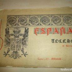 Libros antiguos: ESPAÑA. TOLEDO. 10 LÁMINAS. Lote 157986918