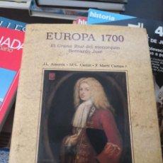 Libros antiguos: EUROPA 1700. EL GRAND TOUR DEL MENORQUÍN BERNARDO JOSÉ (EDS. DEL SERBAL, 1993) MUY BUEN ESTADO. Lote 171715597