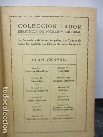 Libros antiguos: GEOGRAFIA DE SUIZA. DR. HERMANN WALSER. EDITORIAL LABOR, S. A. COLECCION LABOR. 1929. - Foto 5 - 159136722