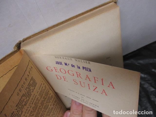 Libros antiguos: GEOGRAFIA DE SUIZA. DR. HERMANN WALSER. EDITORIAL LABOR, S. A. COLECCION LABOR. 1929. - Foto 7 - 159136722