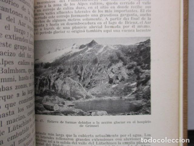 Libros antiguos: GEOGRAFIA DE SUIZA. DR. HERMANN WALSER. EDITORIAL LABOR, S. A. COLECCION LABOR. 1929. - Foto 13 - 159136722