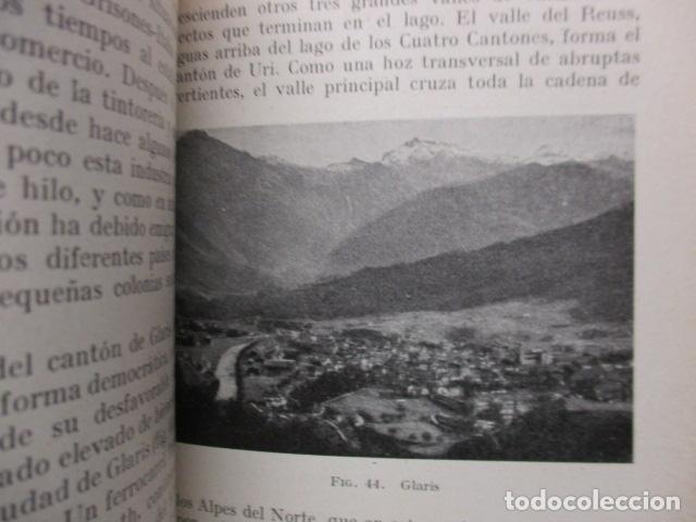 Libros antiguos: GEOGRAFIA DE SUIZA. DR. HERMANN WALSER. EDITORIAL LABOR, S. A. COLECCION LABOR. 1929. - Foto 14 - 159136722