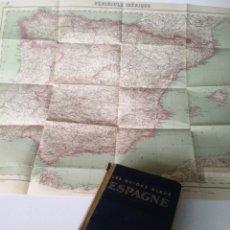 Libros antiguos: LES GUIDES BLEUS. ESPAGNE 1927. HACHETTE. GUIA DE ESPAÑA.. Lote 205881948