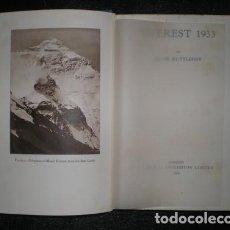 Libros antiguos: RUTTLEDGE, HUGH: EVEREST 1933. HODDER & STOUGHTON, LONDON (1934). Lote 160341254