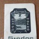 Libros antiguos: GREDOS. SOCIEDAD GREDOS-TORMES. 1914. TEXTO E ILUSTRACIONES DE RAMON GONZALEZ. 28 PP.. Lote 160457206
