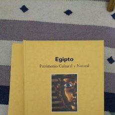 Alte Bücher - EGIPTO. PATRIMONIO CULTURAL Y NATURAL. - 160959962