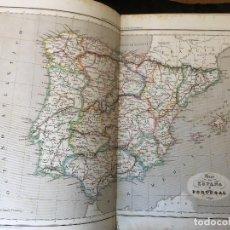 Libros antiguos: ATLAS GEOGRAFICO - DELAMARCHE - BARCELONA 1846. Lote 161374550