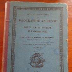 Libros antiguos: MAGNÍFICO ATLAS FRANCÉS DE FINALES DEL S XIX, 54 MAPAS, TIPO LIBRO. Lote 161891050