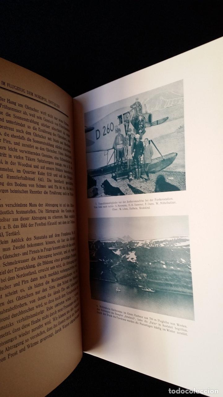 Libros antiguos: Walter MITTELHOLZER, Expedición aerea al ARTICO, 1925, MUY RARO, Amundsen - Foto 4 - 163339238